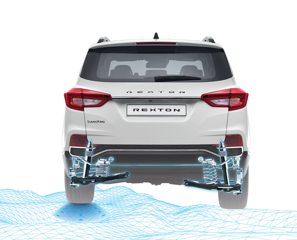 SsangYong Rexton - Multilink achterwielophanging