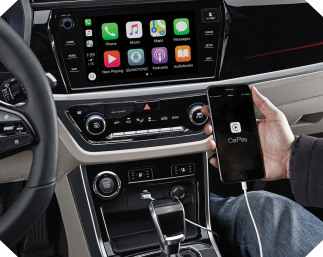SsangYong Korando Apple CarPlay