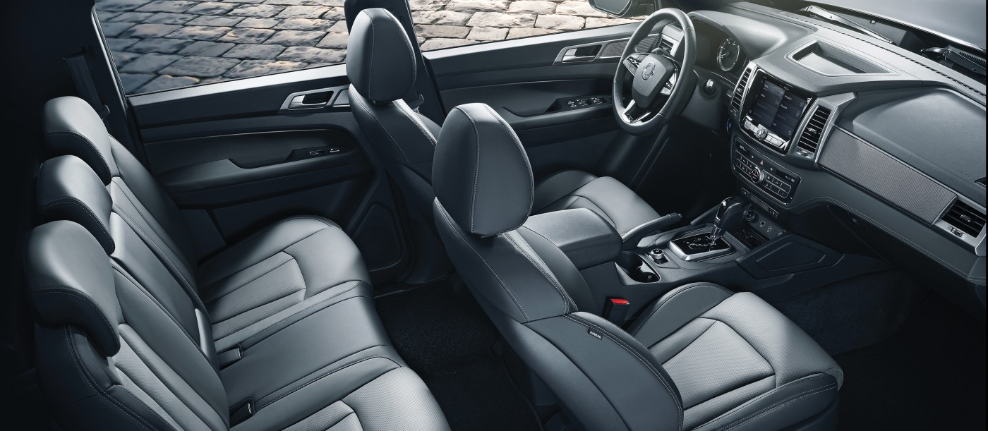 SsangYong Grand Musso luxueus interieur