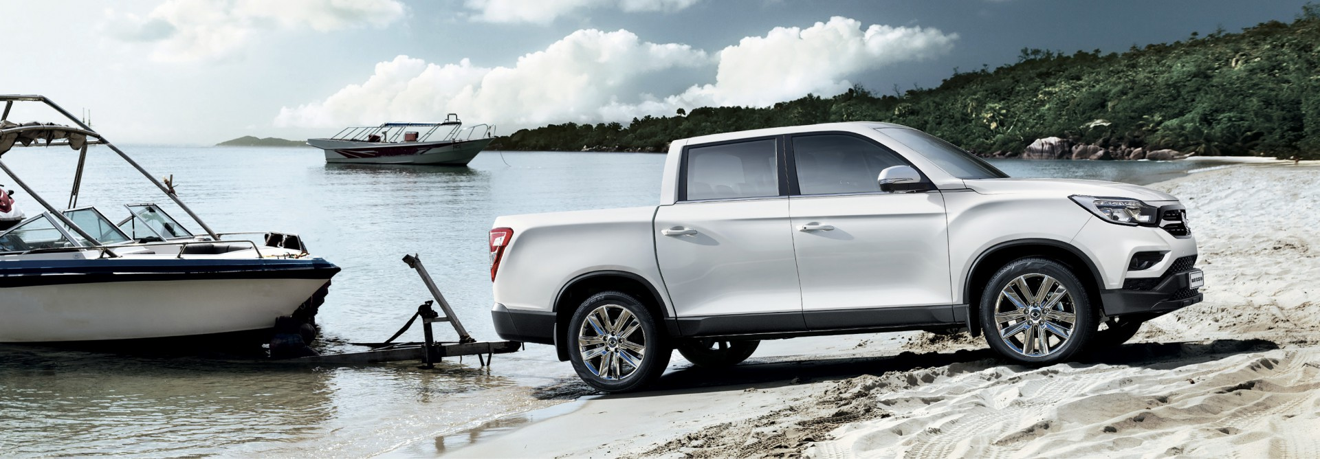 SsangYong Musso - The authentic pick-up